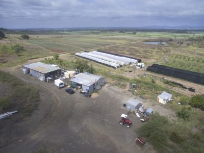 36 ACRE FARM WITH GOOD WATER SUPPLY, NO FROST, BIG SHED & COMFORATABLE LIVING QUARTERS……