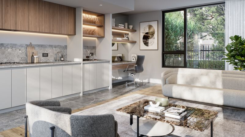 Life is better downtown. A stunning collection of 1,  2 and 3 bedroom residences.-034