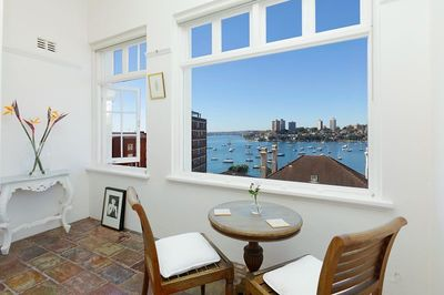 Beautiful one bedroom with stunning views and gorgeous sunroom