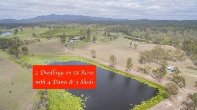 JAM PACKED WITH VALUE….. 58 ACRES – 2 DWELLINGS – MULTIPLE SHEDS - 7 PADDOCKS + 4 DAMS & SOLAR…..BE SUPER QUICK!!!