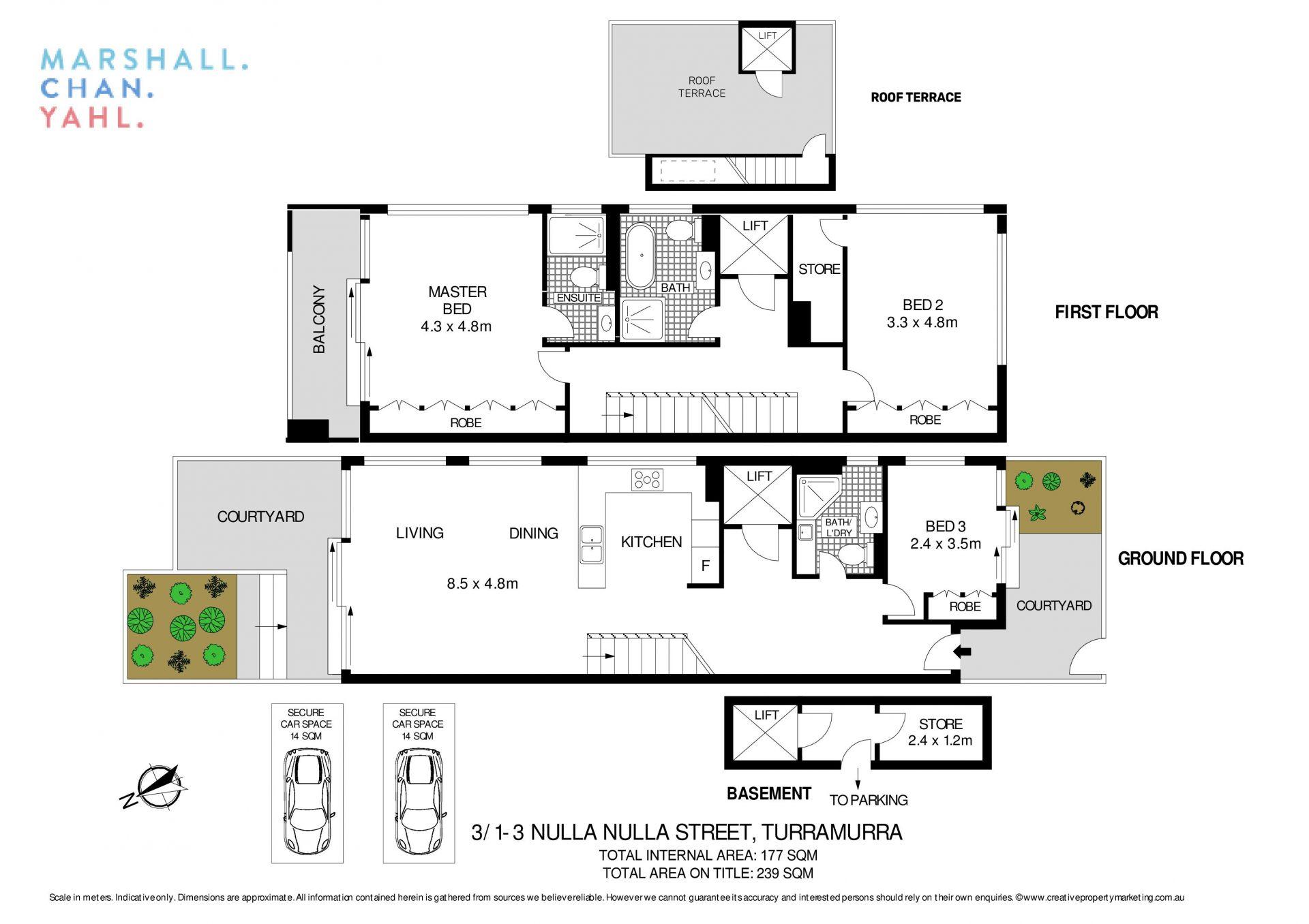 3/1-3 Nulla Nulla Street Turramurra 2074
