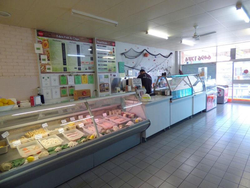 HIGHLY RATED NSW COASTAL BUSINESS : EDEN FISH & CHIPS