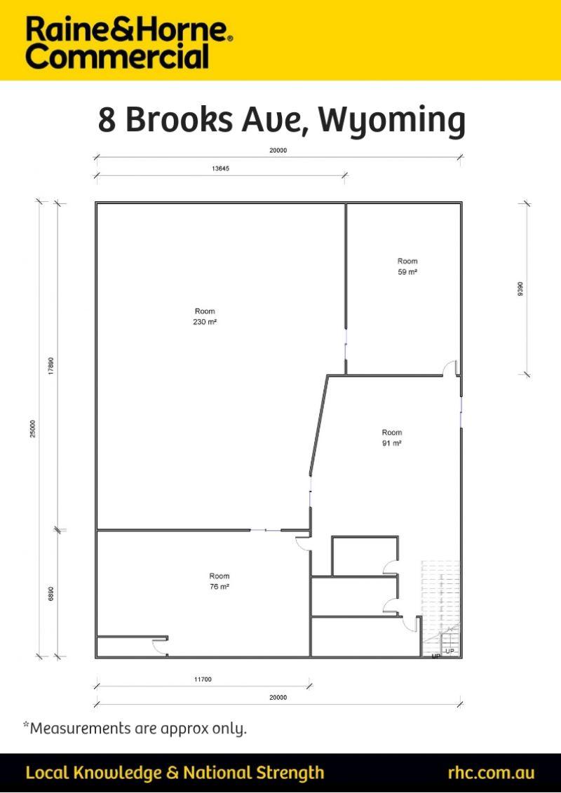 First Floor - Open Plan