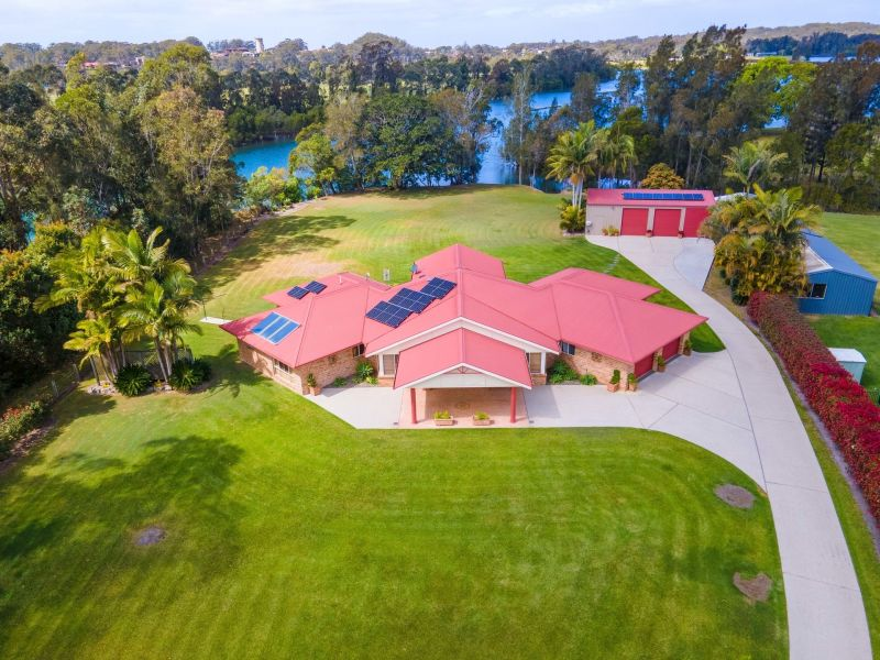 Rare Opportunity! Waterfront Home on a 1.3 Acre Block