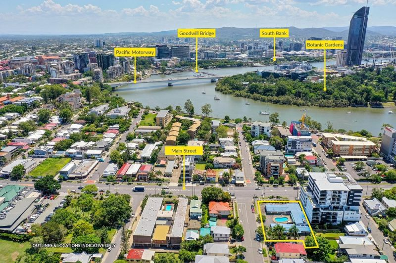 1672SQM* APPROVED MIXED USE DEVELOPMENT SITE KANGAROO POINT