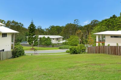 Large 710sqm east facing block with local views