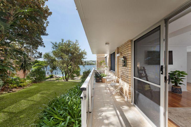 A Stunning Waterfront Garden Apartment