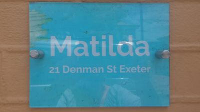 Introducing Matilda....