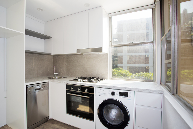 RENOVATED STUDIO WITH BALCONY AND SECURITY PARKING