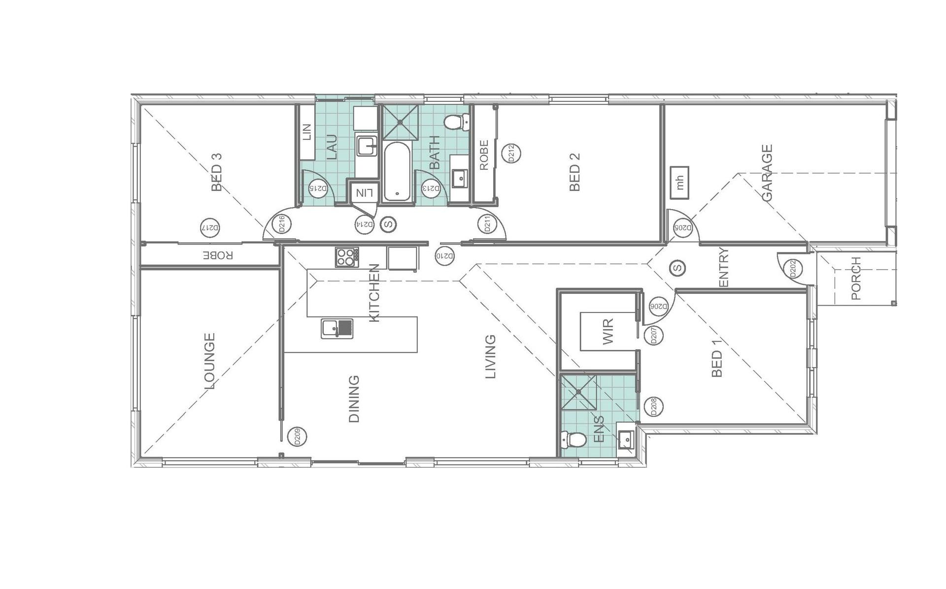 6A Handford Place - Floor Plan