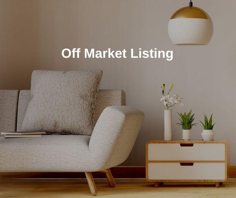 Off Market Sale