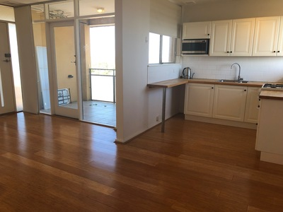 Bright 2 bedroom unit with balcony and views