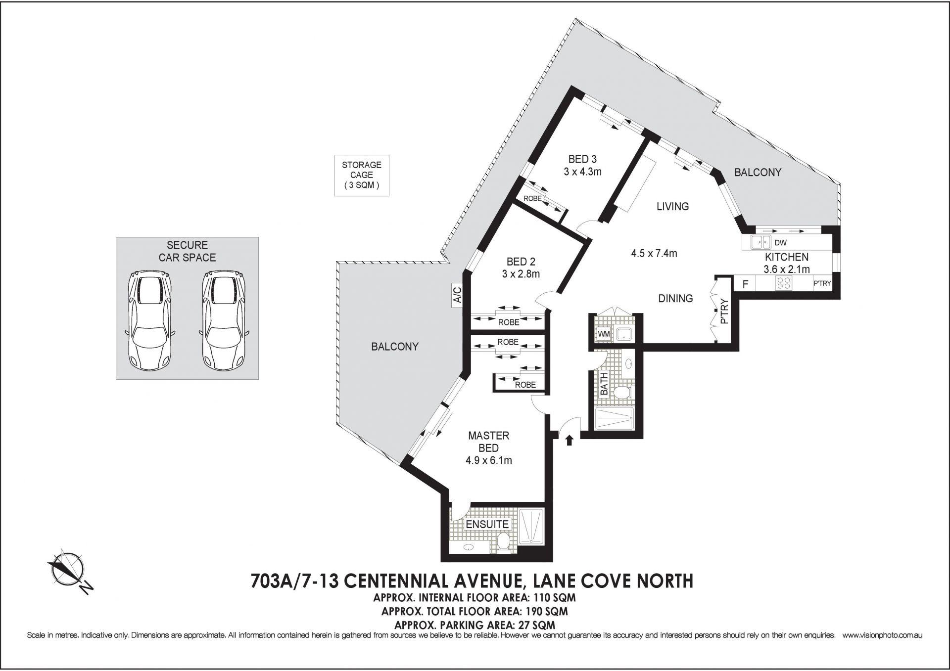 703A/7-13 Centennial Avenue Lane Cove 2066