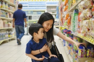 Busy Large-scale Asian Supermarket - Ref: 17833