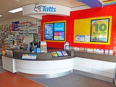Tatts and News in Busy South Shopping Centre - Ref: 12722