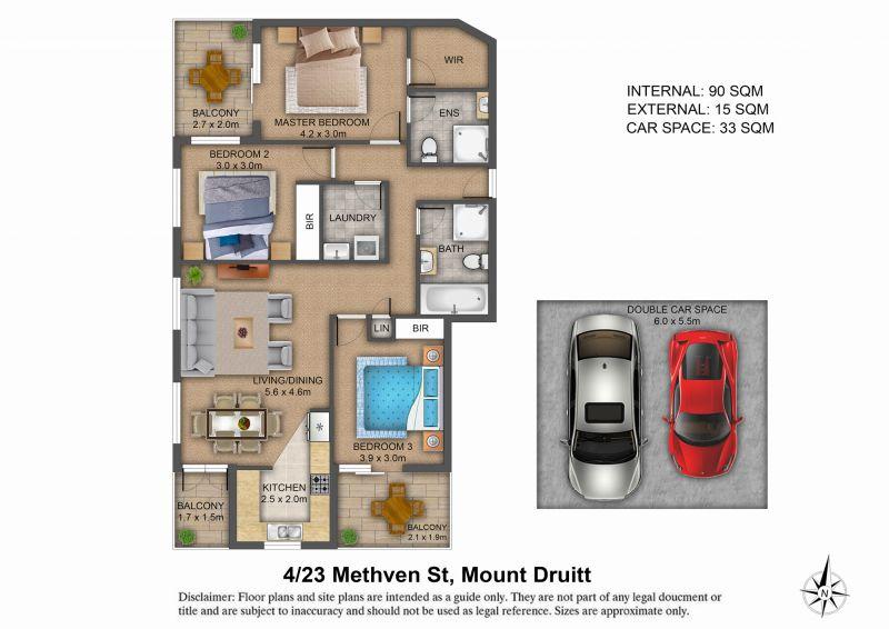 4/23 Methven Street, Mount Druitt