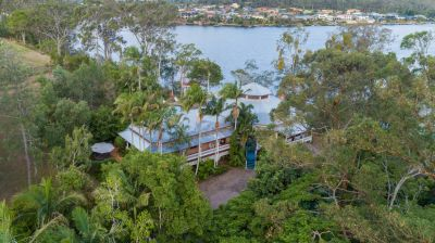 Extremely Rare - Northern Gold Coast Acreage Estate on Coomera River with Stunning Home in Elevated Position