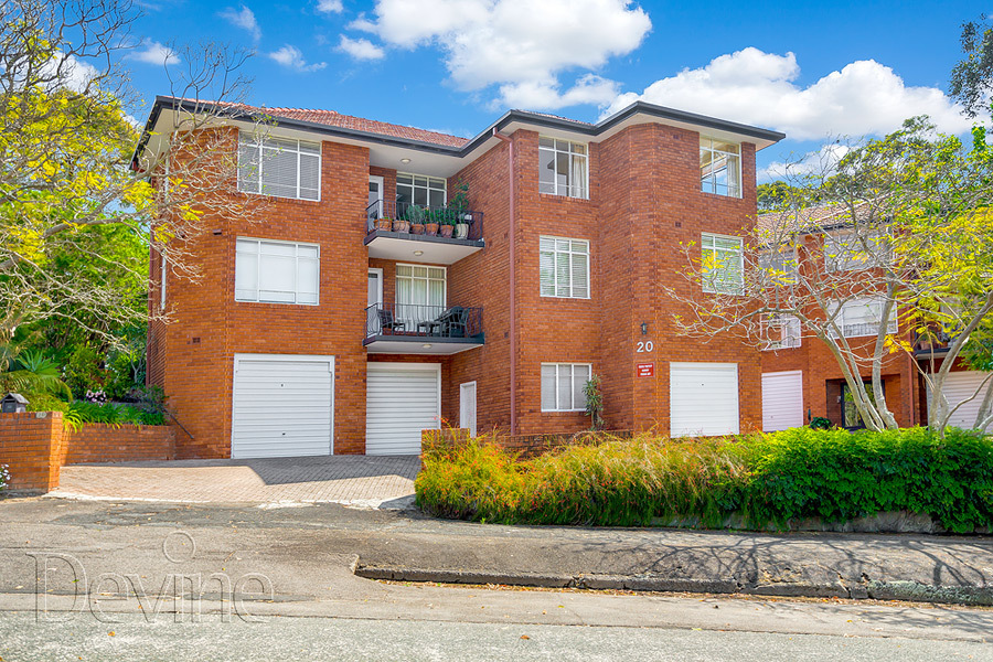 12/20 Joubert Street , Hunters Hill