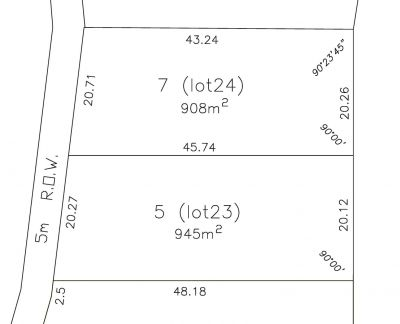Flat Commercial Land in the Bridgetown Town Centre - 2 LOTS