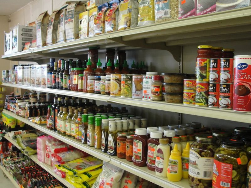Busy Asian Grocery in heart of Bentleigh