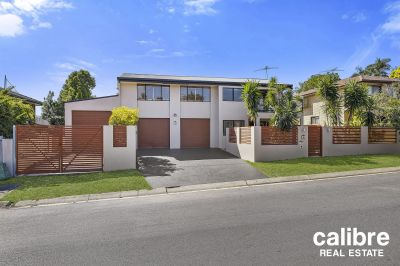 So much more on offer here - 661sqm with side access, high drive through 3rd garage, flat yard.