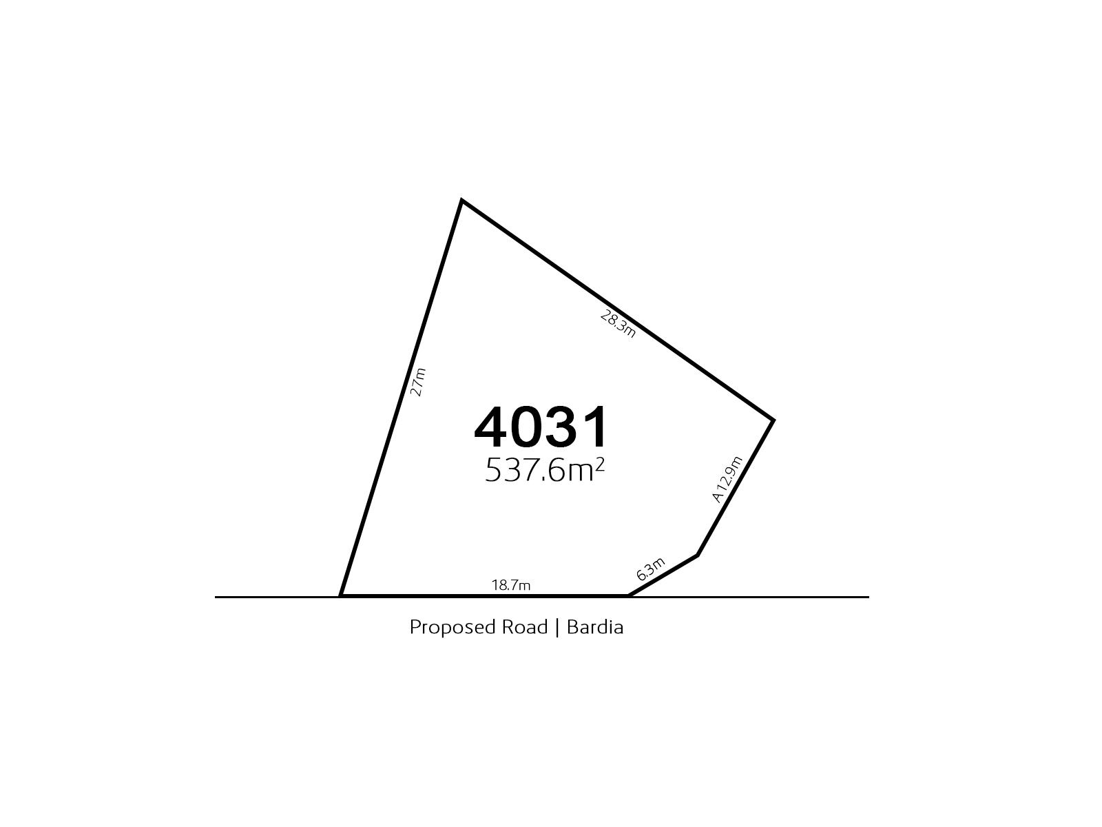 Bardia LOT 4031 Proposed Road | Bardia
