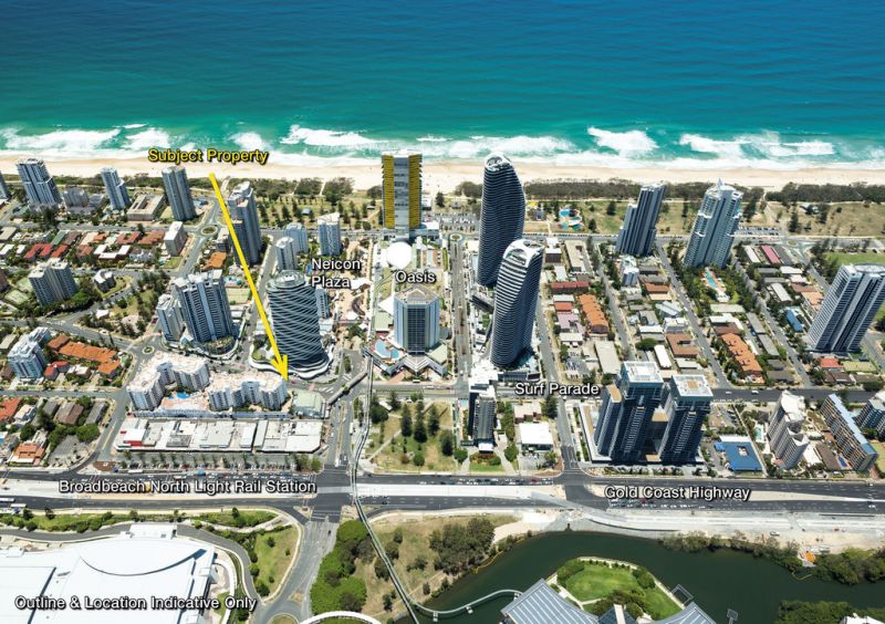 Broadbeach Retail Investment - Outstanding Location