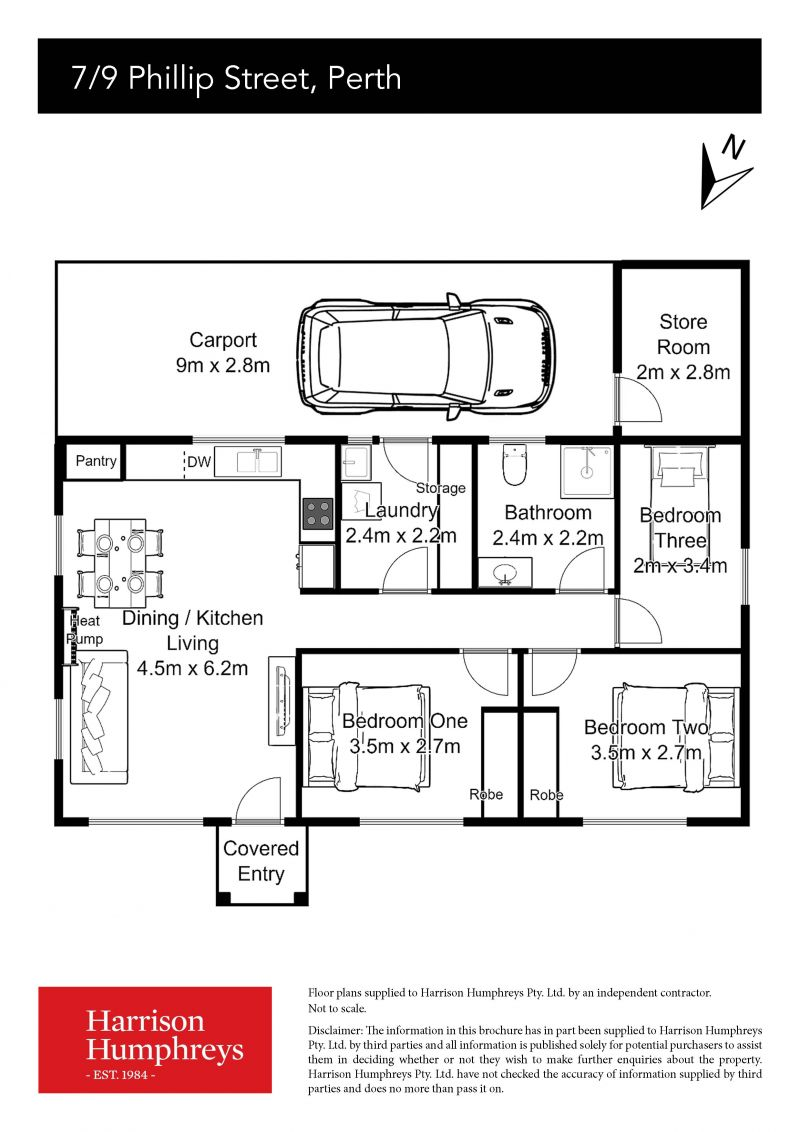 9 Phillip Street Floorplan
