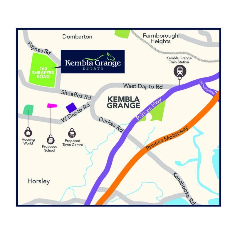 Kembla Grange 30 (Lot 2046)  Sapphire Road