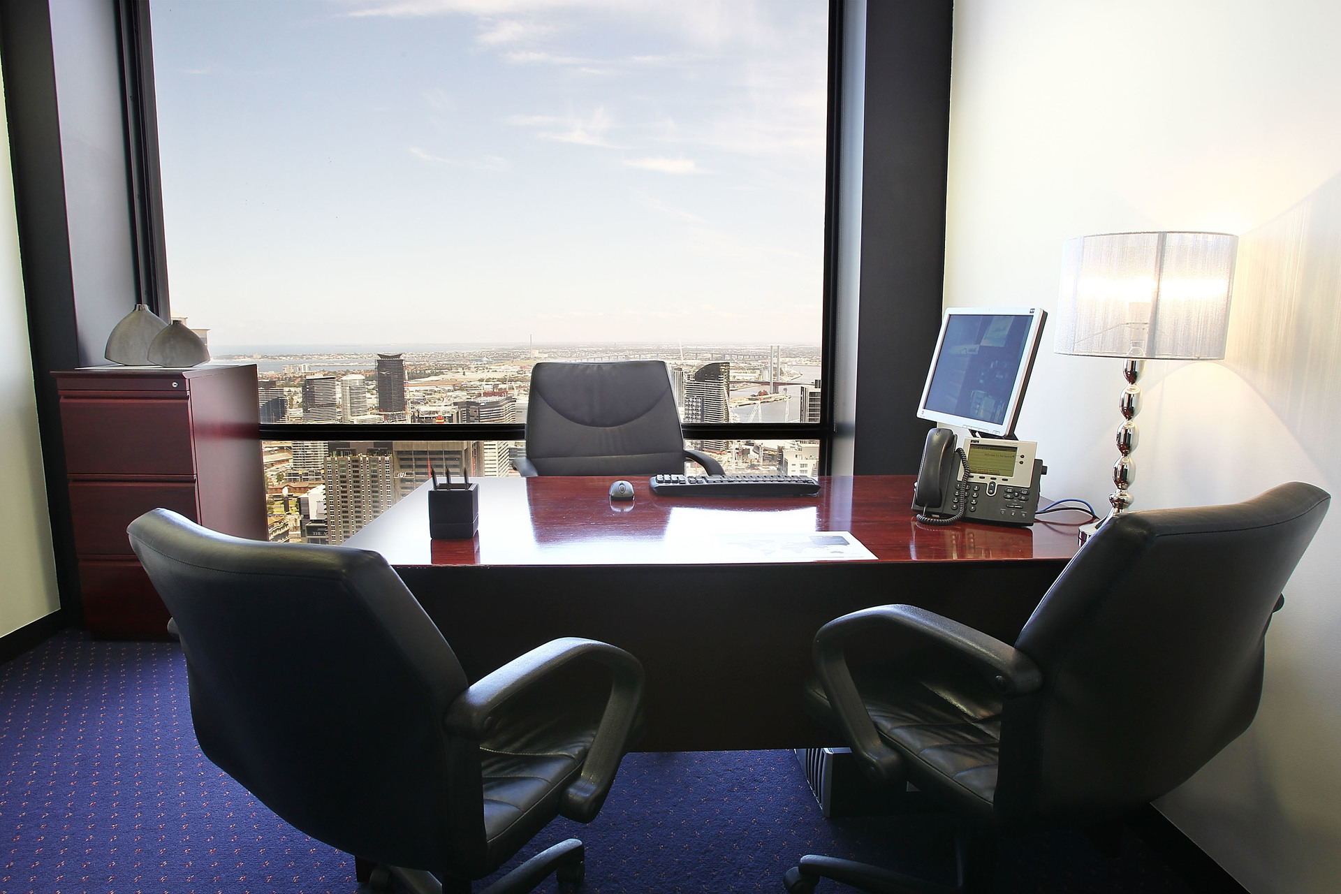 MODERN OFFICES AVAILABLE IN VIEWS LOOKING OUT ACROSS YARRA RIVER