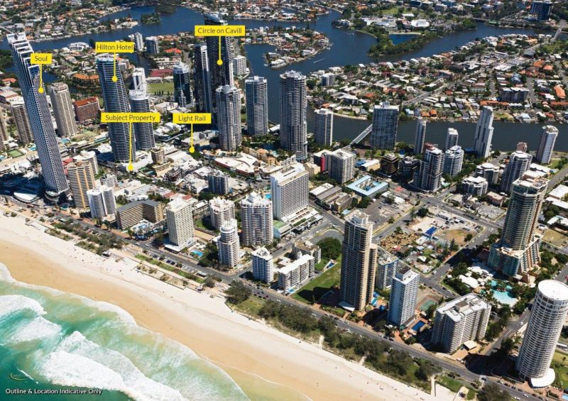 Entry Level Retail in the Centre of Surfers Paradise next to the Iconic Hilton Hotel