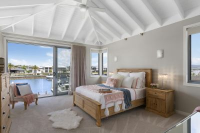 Hamptons Inspired Home on  Bridge Free Deep Water