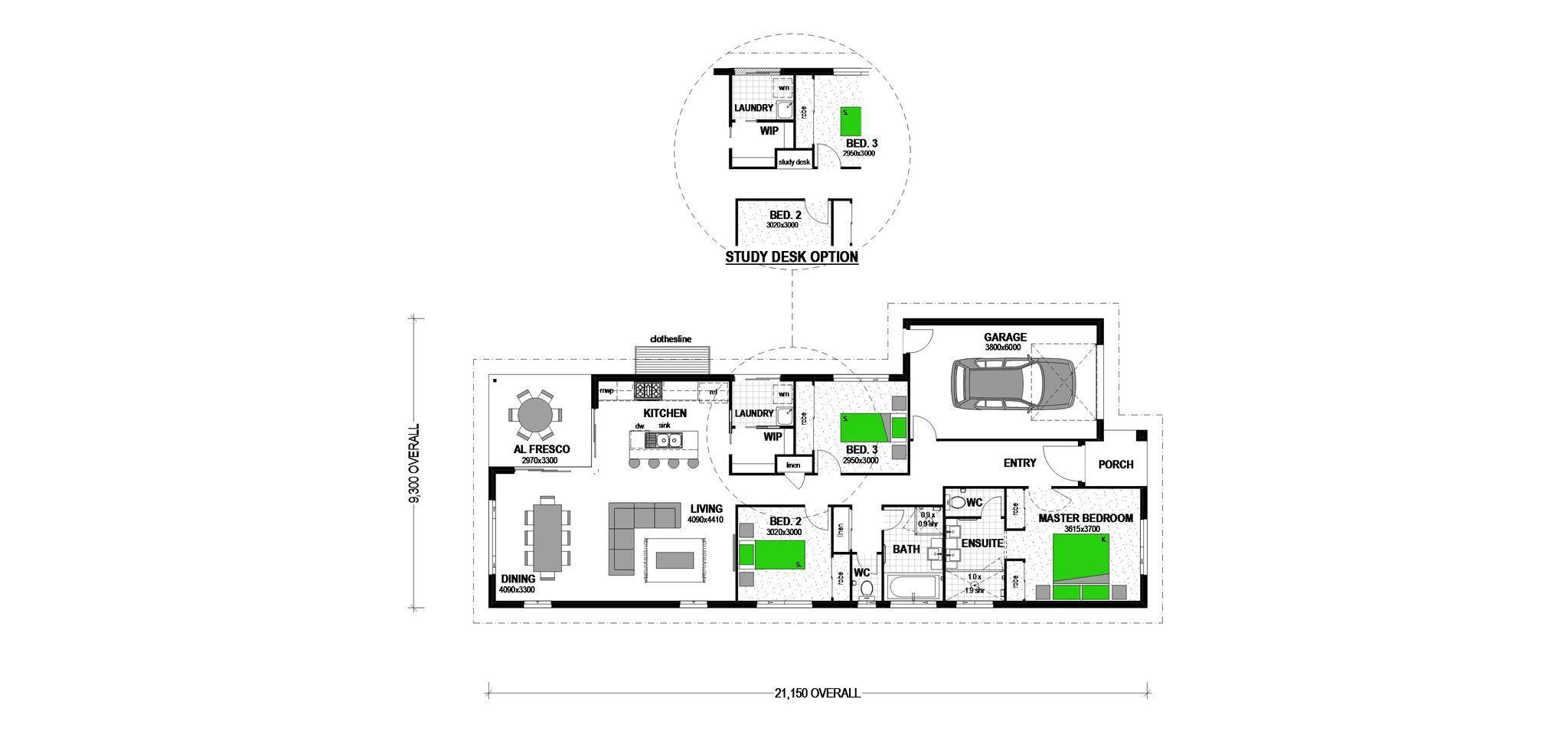 LOT 5 LEITCHS ROAD ALBANY CREEK Floorplan