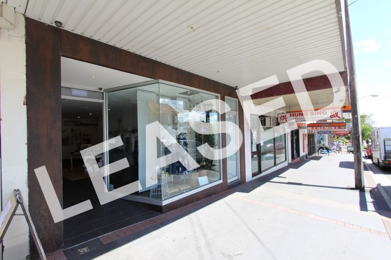 LEASED BY RYAN MCMAHON - BOUTIQUE SHOP FRONT