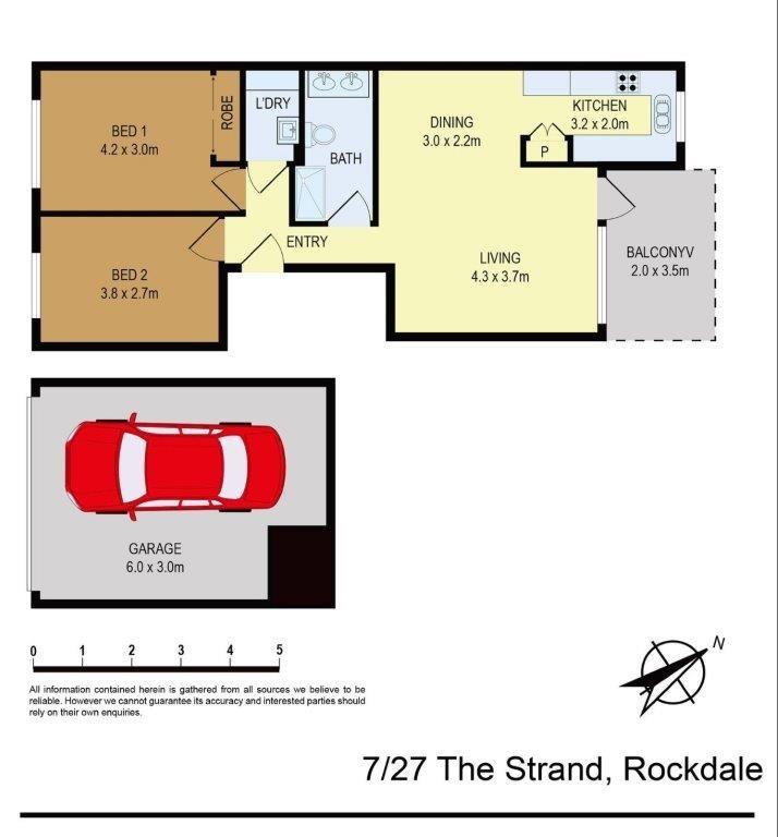 7/27 The Strand, Rockdale