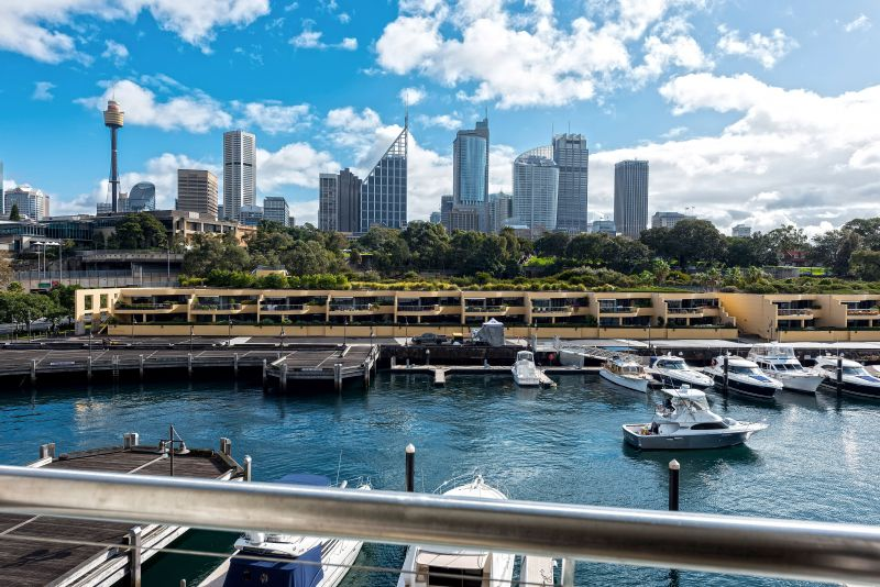 Fully Furnished studio with essential Sydney city & Sydney Harbour views