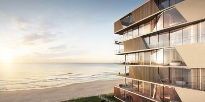 Absolute Beachfront 3 Bedroom Apartment