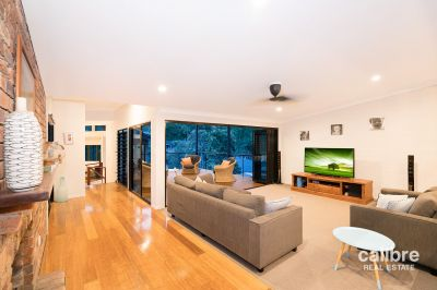 Stunning architecturally designed large family home!