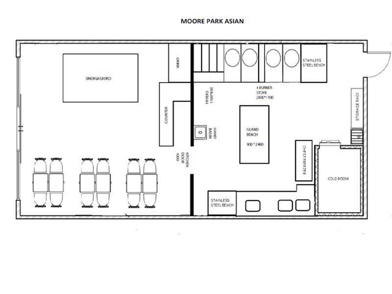 Moore Park Shopping Centre Restaurant