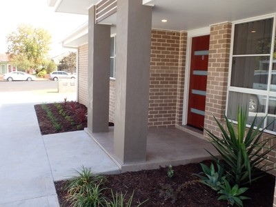 Recently built modern unit offers easy living