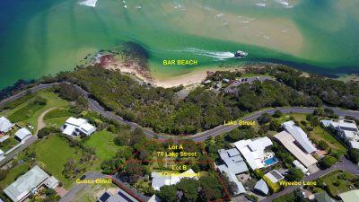 BAR BEACH is across the road