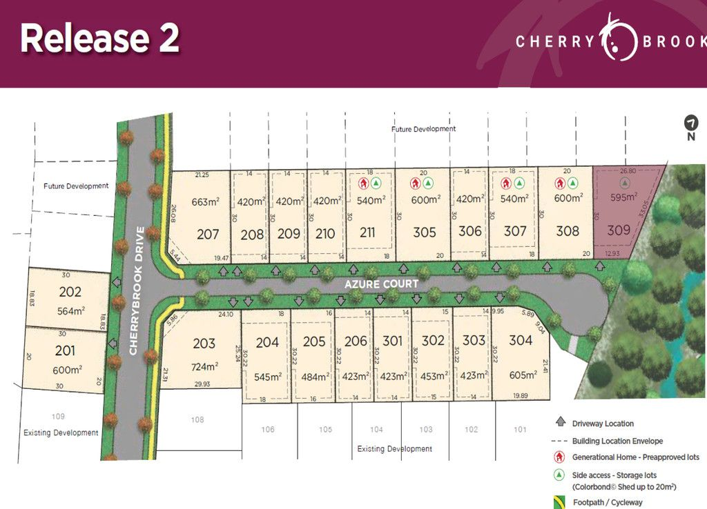 Lot 309 Azure Court, Bentley Park QLD 4869