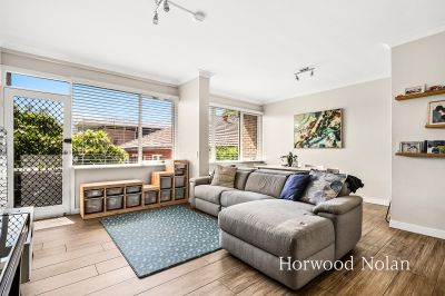 Meticulously renovated two bedroom plus study townhouse