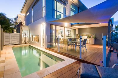 Unique and Modern Waterfront Home Complete with Atrium Garden!