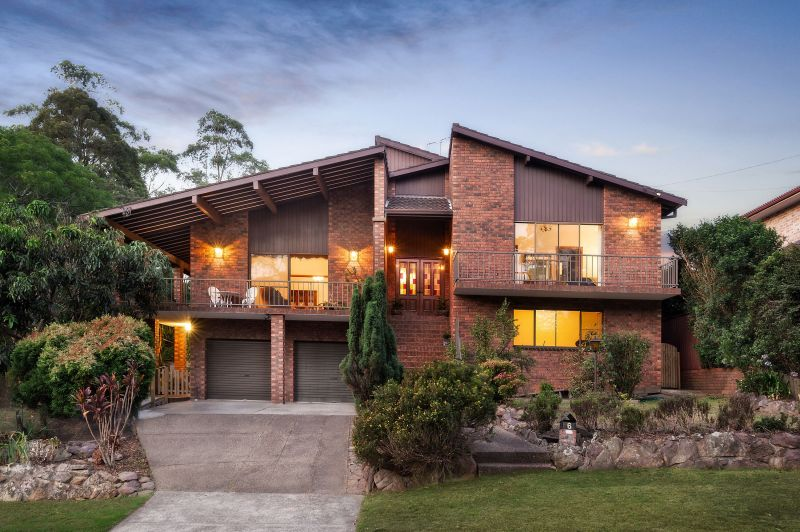 Expansive home in peaceful locale