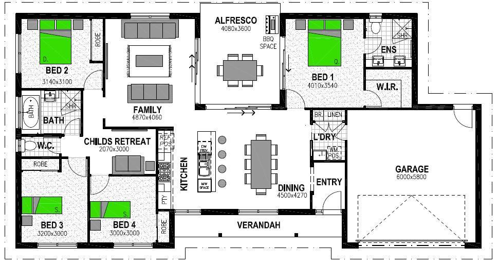 LOT 7 WAKEFUL CRESCENT SPRING ESTATE DROUIN Floorplan