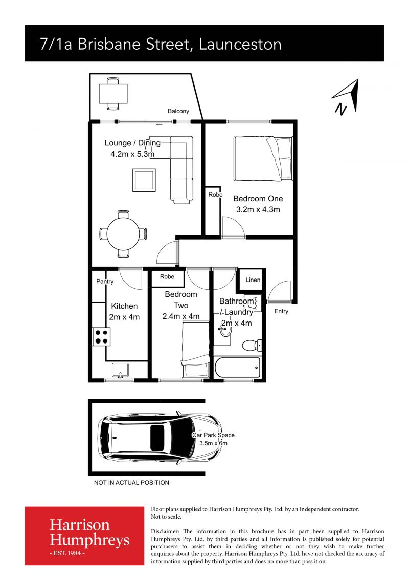 1A Brisbane Street Floorplan