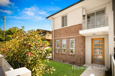 Extra large, near new double brick townhouses just moments walk to North Strathfield station