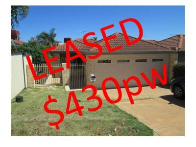 LEASED! MORE PROPERTIES WANTED!!!!