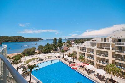 Poolside Unit Ettalong Beach Resort The Mantra Ocean views